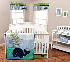 Whale Crib Bedding Trend Lab Anchors Away 3 Crib Bedding Set Baby
