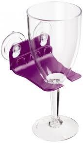 inspirations shower wine glass holder for inspiring unique