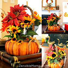 zensible mama 2 fun and trendy fall decor themed ideas for less