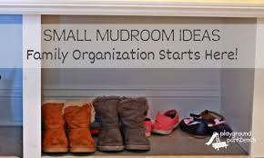 family organization small mudroom ideas