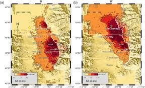 Utah Broadband Map by 3d Simulations Of M 7 Earthquakes On The Wasatch Fault Utah Part