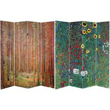 Canvas Room Divider Coffee Time 6 Ft Multi Color 3 Panel Room Divider Sg 124 The