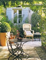 Country Outdoor Furniture by 20 Chic French Country Terrace Décor Ideas Shelterness