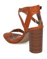 shoes breckelles hk71 women leatherette open toe cross ankle strap