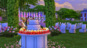 wedding cake sims 4 sims 4 gameplay with family wedding of alex and