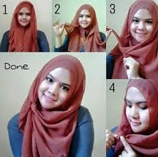tutorial pashmina dian pelangi busana muslim trendy tutorial hijab modern ala dian pelangi model baru