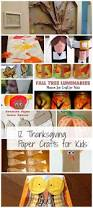 12 thanksgiving paper crafts for kids the papery craftery