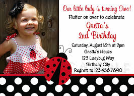 18th Birthday Invitation Card Ladybug Birthday Invitations Kawaiitheo Com