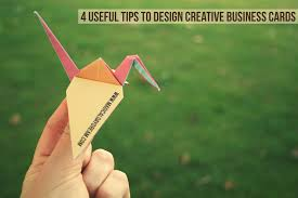 4 useful tips to design creative business cards magical daydream