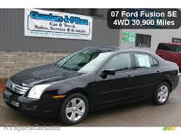 2007 ford fusion se 2007 ford fusion se v6 awd in black 236407 nysportscars com