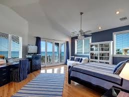 Laminate Flooring On Ceiling Traditional Guest Bedroom With Nautical Themed U0026 Ceiling Fan In