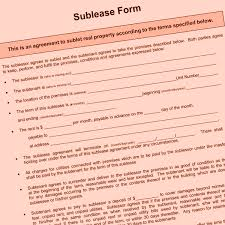 Notice To Terminate Lease By Landlord can a chicago landlord refuse a sublese sublease basics