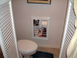 recessed toilet paper holder with magazine rack functional