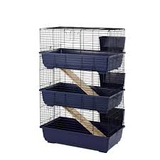 Large Bunny Cage Rabbit 80 Triple Cage Indoor For Rabbits U0026 Guinea Pigs Little