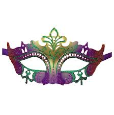 madi gras mask venetian glitter masquerade party mardi gras mask