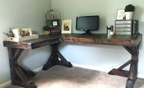 Woodworking Plans Corner Computer Desk by Desk This Step By Step Diy Woodworking Project Is About Corner