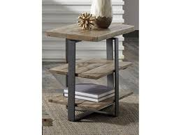 liberty furniture baja occasional chair side table with two