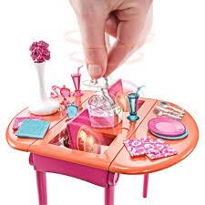 barbie dining room set barbie dining table set playsets homeshop18