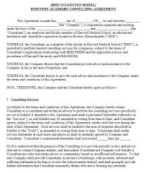 consultant agreement template template ideaconsulting services