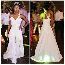 Wedding Dress Jumpsuit Nigerian Bridal Jumpsuit Loveweddingsng 2 Jpg