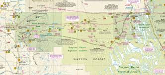 Desert Map Simpson Desert Digital Map Free Click For Details Westprint