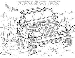 gallery u0027teraflex jeep coloring pages u0027 teraflex