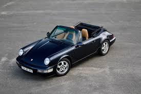 porsche 964 cabriolet 1992 porsche 964 cabriolet in nachtblau fineeleven