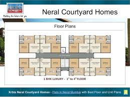 best floor plans flats in neral mumbai with best floor and unit plans xrbia neral co