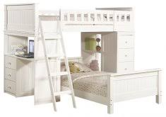 awesome white loft bed with storage ne kids schoolhouse storage