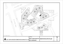 Dlf New Town Heights Sector 90 Floor Plan 2727 Sq Ft In Resale At Tower Pqr In Dlf New Town Heights 90