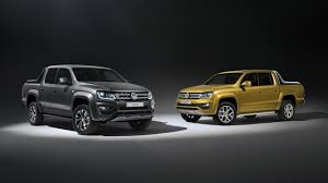volkswagen special editions vw amarok aventura exclusive concept and amarok dark label special
