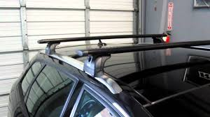 Ors Roof Racks by Audi A3 Sportback With Thule Rapid Podium Aeroblade Base Roof Rack