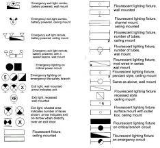Floor Plan Electrical Symbols House Blueprints
