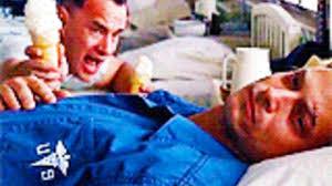 Lieutenant Dan Ice Cream Meme - ice cream hospital gif find share on giphy