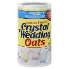 wedding oats 16oz nassau grocery
