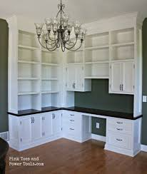 Dining Room To Office Dining Room Home Office The Reveal Pink Toes And Power Tools
