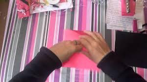 Pliage Serviette Papier Poinsettia by Pliage De Serviettes En Papier Youtube