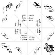 cootie catcher wedding program template wedding cootie catcher crafty ideas weddings