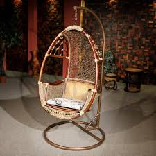 swing chair indoor with stand home chair decoration