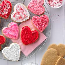 Valentine Decorations For The Home by Peanut Butter Cutout Cookies Recipe Taste Of Home