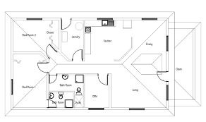 single story small house plans small house plan free with pdf and cad file