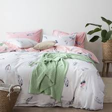 Printed Duvet Covers Best 25 White Duvet Cover Queen Ideas On Pinterest Pink And