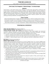 resume supply chain manager resume format example best warehouse