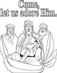 baby jesus coloring page three kings coloring pages for kids christmas wisemen three wise