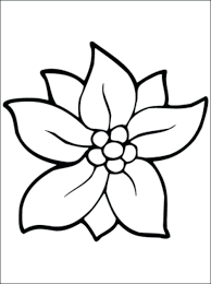 flowers to print and color free coloring pages large flower