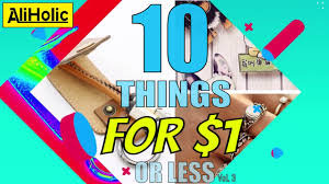 10 things from aliexpress for 1 or less vol 3 best cheapest