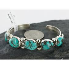 bracelet silver turquoise images Handmade native american bracelet 500 retail tag authentic jpg