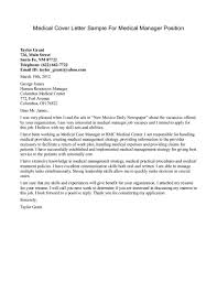 Cover Letter Sample Cover Letters by Sample Cover Letters For Management Positions Guamreview Com