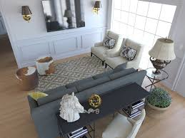 back of couch table back family room with work desk behind the couch and all the
