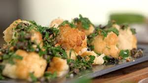 tf1 cuisine laurent mariotte recette recette de chou fleur grillé aux olives petits plats en equilibre